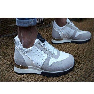 Erkek Günlük Spor Ayakkabı Beyaz