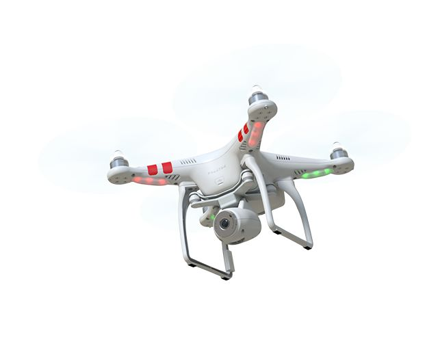 Phantom 2 Vision - Your Flying Camera, Quadcopter Drone for Aerial Photography and Videography | DJI