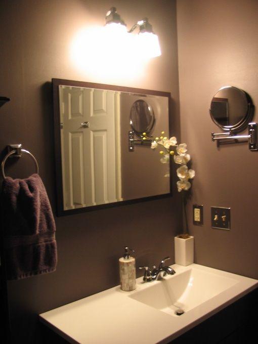 bathroom paint ideas brown