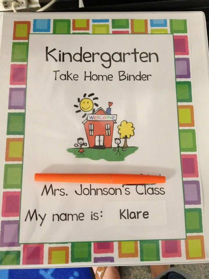 Have to scroll down pretty far - but I like the idea of personal student binders for all take home info