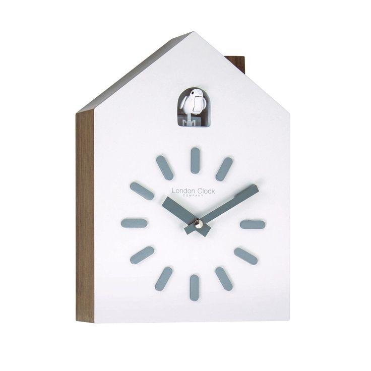 85 euros sur EBAY la dernière LONDON CLOCK COMPANY CONTEMPORARY CUCKOO CHIME WALL CLOCK in Maison, Horloges, Coucous   eBay