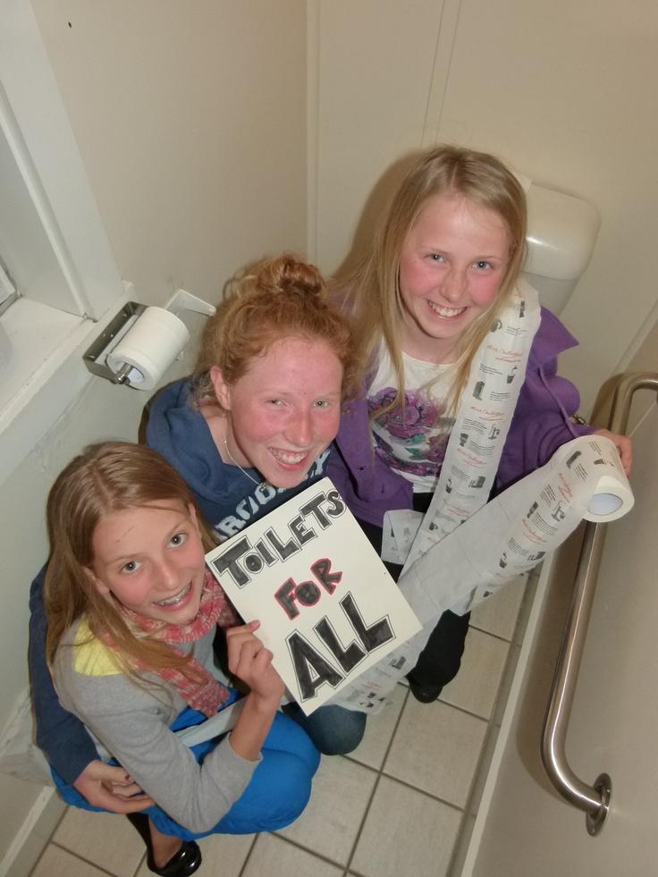 Tahlia Richardson, Tara & Georgia Culey - These girls (aged 12-15yrs) have raised over 5000 dollars for sanitation and education through TEAR