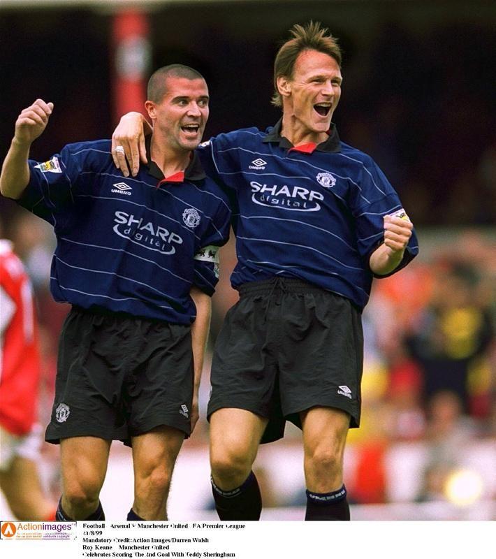 Roy Keane & Teddy Sheringham