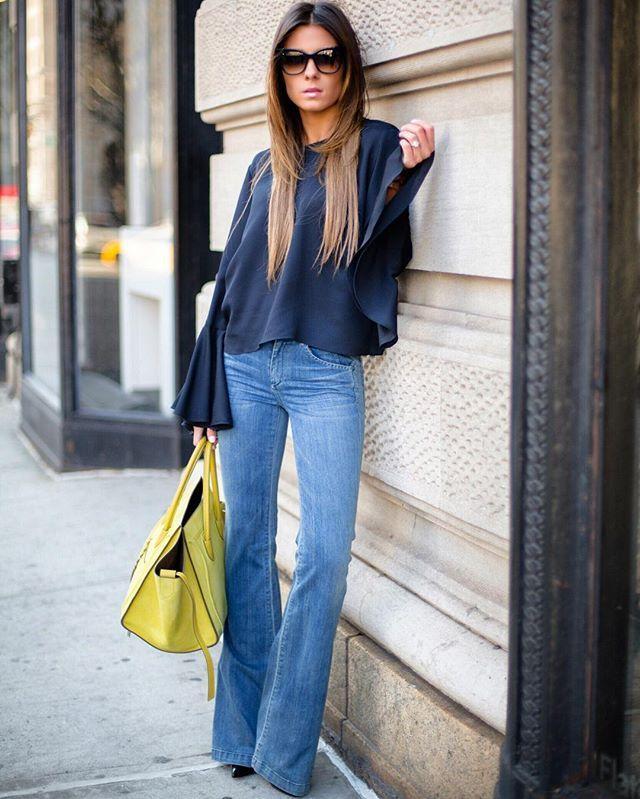 Jeans flare - sezonun favorileri 42
