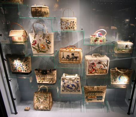 The largest collection of handbags in the world, the oldest of which were used to carry Bibles, primarily by men. - Amsterdam, holland, dutch, netherlands