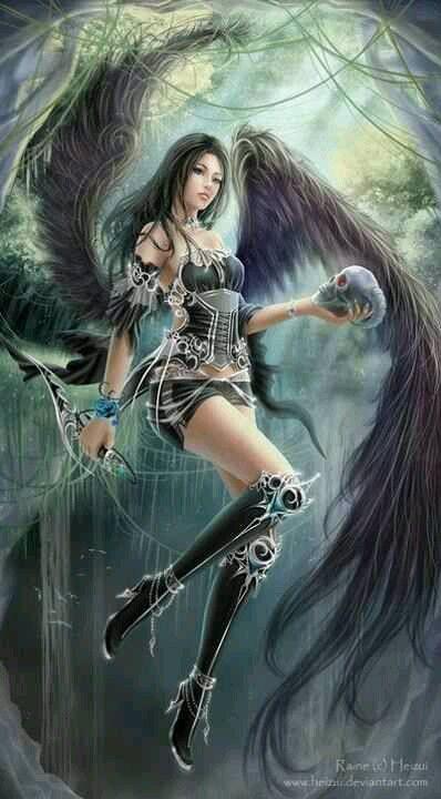The Assassin. Dark angel fantasy