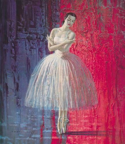 'Ballerina' by Vladimir Tretchikoff