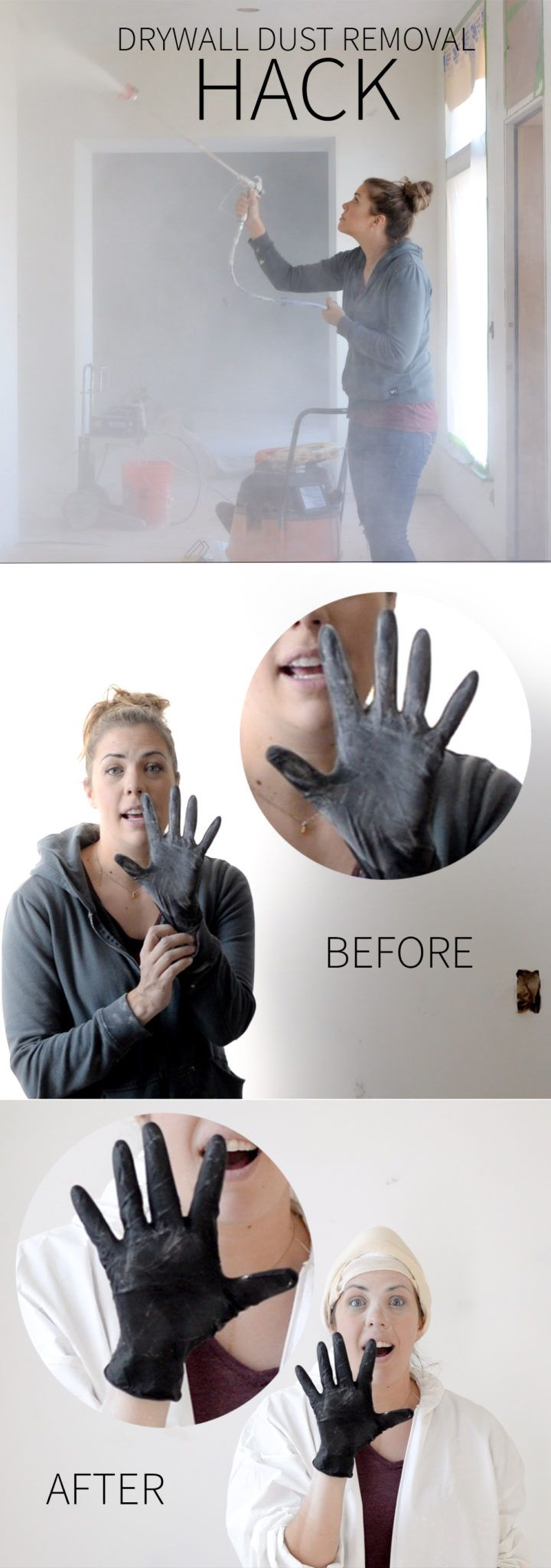 Drywall Dust Removal Hack (That Most Professionals Don't Even Know)
