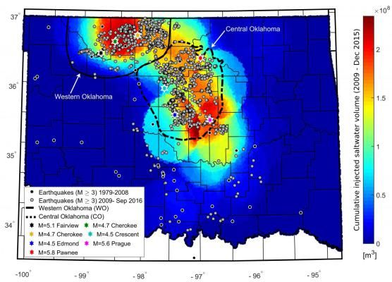 Man-made earthquakes in Oklahoma declining but risk remains high #Geology #GeologyPage