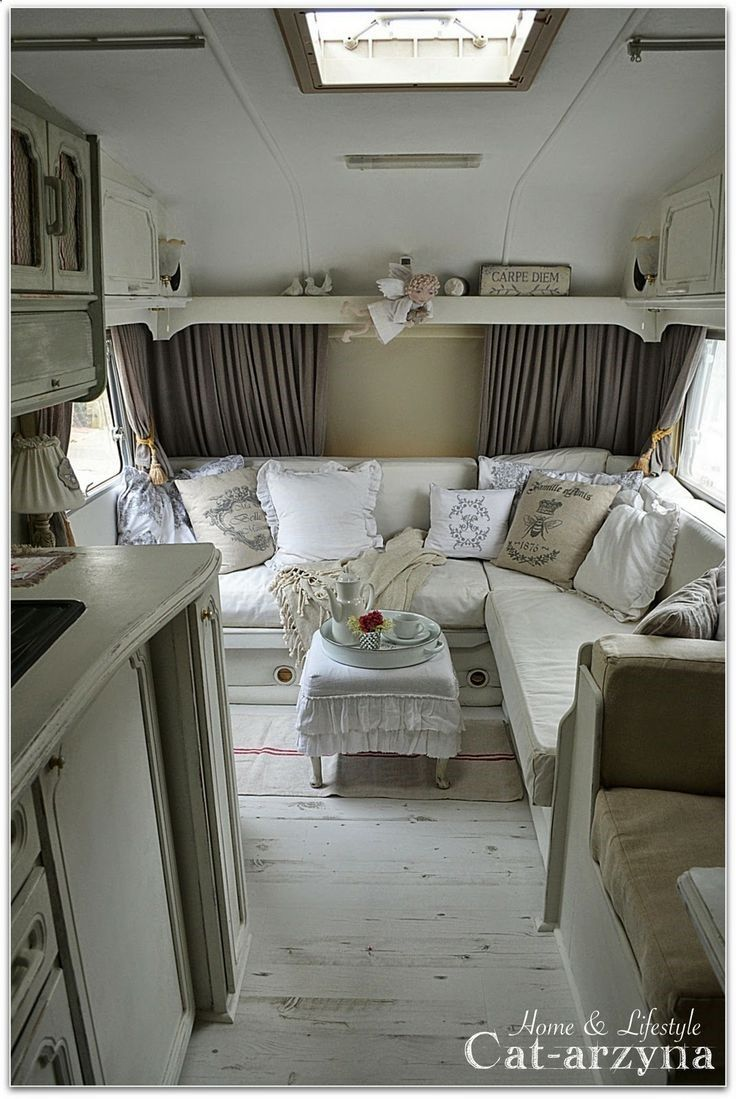Small camper interior  best rv images on pinterest  cob houses arquitetura and eco homes