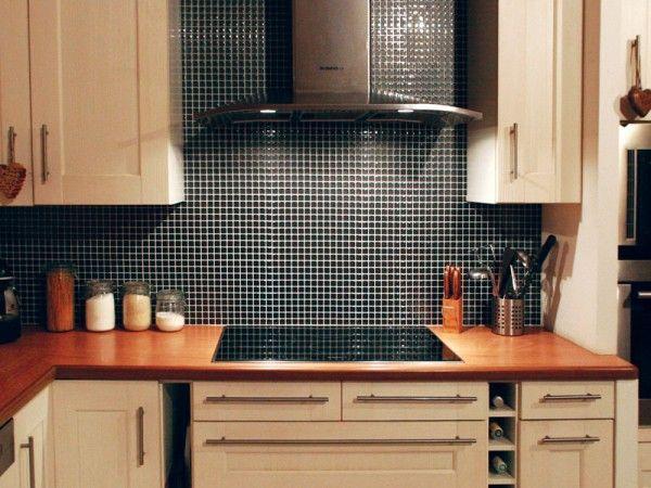 17 meilleures id es propos de carrelage adhesif sur pinterest carrelage a - Credence autocollant cuisine ...