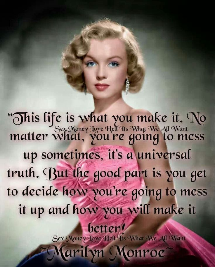 Marilyn Monroe Quotes: 150 Best Silver Screen Favorites Images On Pinterest
