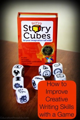 How to Improve Creative Writing Skills with a Game @Education Possible