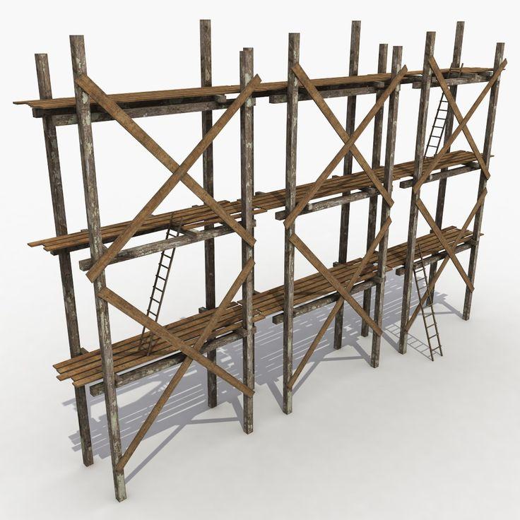obj scaffolding old