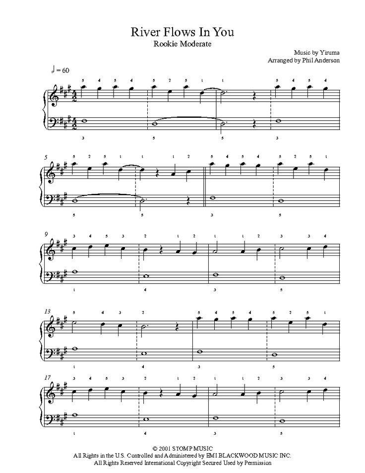 Die Besten 25 Einfache Klavier Noten Ideen Auf Pinterest