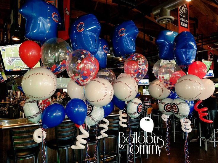 17 best images about balloon bouquets on pinterest for Balloon decoration chicago