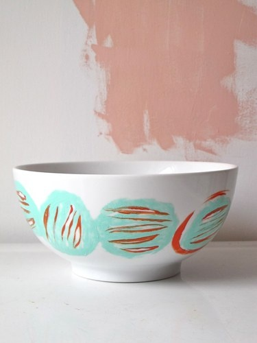Hand Painted Mixing Bowl by Milk Farm Road