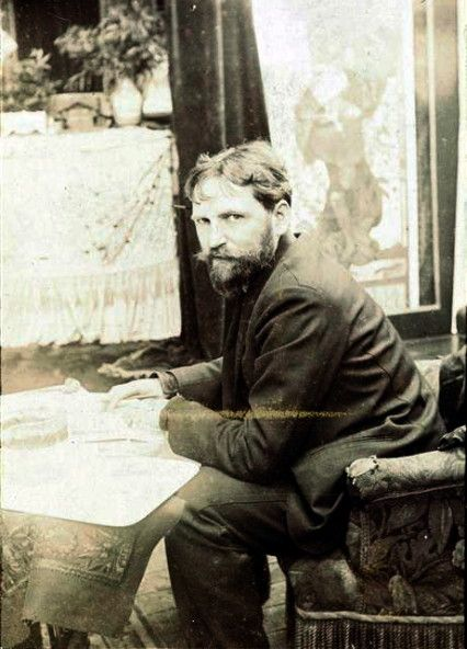 Alfons Maria Mucha(1860 – 1939), often known in English and French as Alphonse Mucha, was a Czech Art Nouveau painter and decorative artist,[3] known best for his distinct style. He produced many paintings, illustrations, advertisements, postcards, and designs.