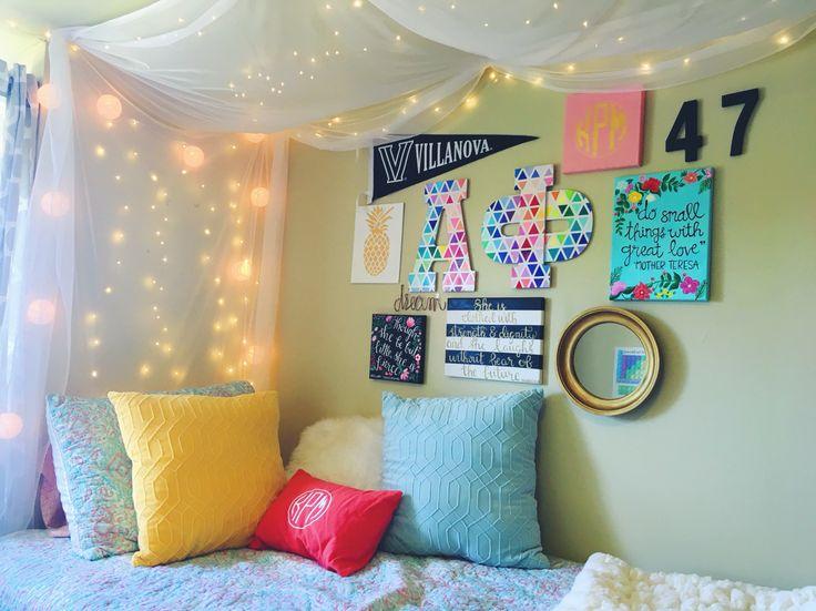 My dorm room at Villanova University (St. Mary's Hall)