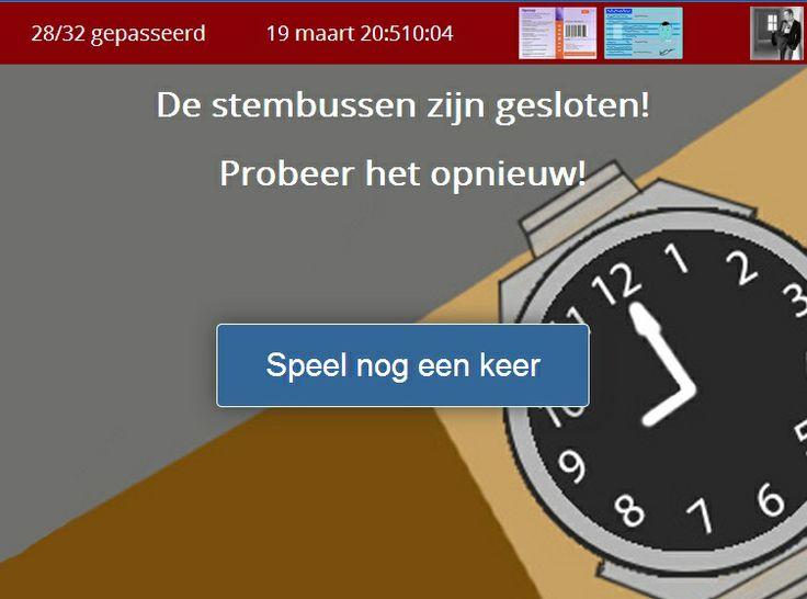 Game: fietsen naar stembureau in Almere