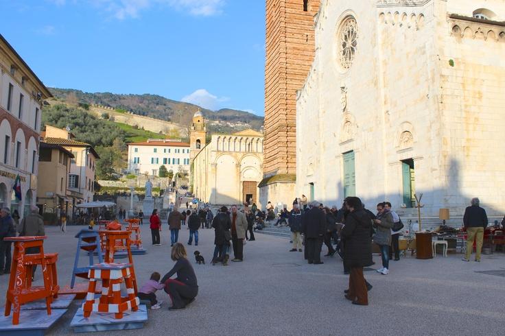 Piazza del Duomo Pietrasanta