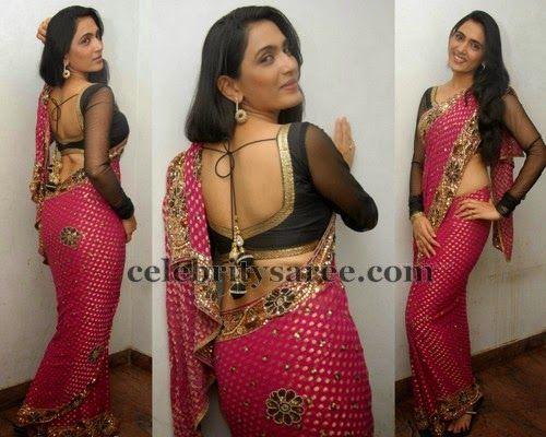 Mythriya Back Neck Blouse - Saree Blouse Patterns