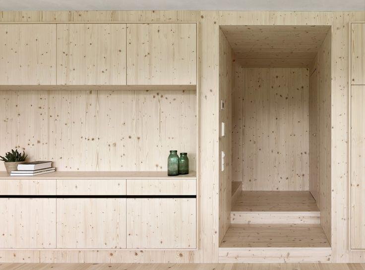 czystość, minimalizm, drewniane blaty