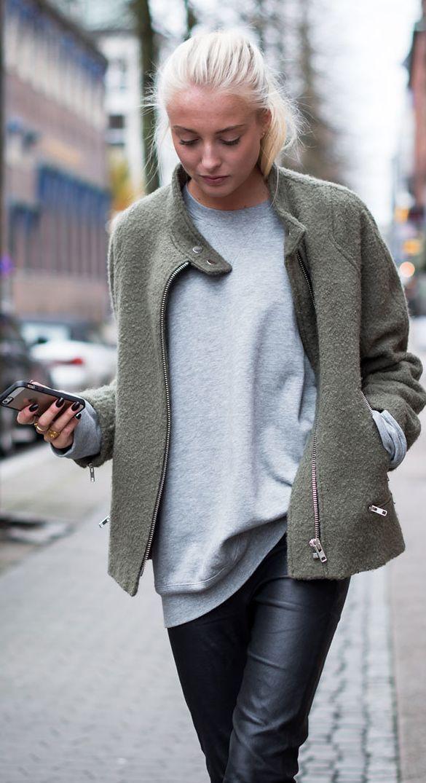 Khaki Woolen Jacket