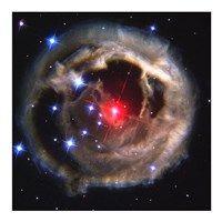 Framed Light Echo Around V838 Monocerotis
