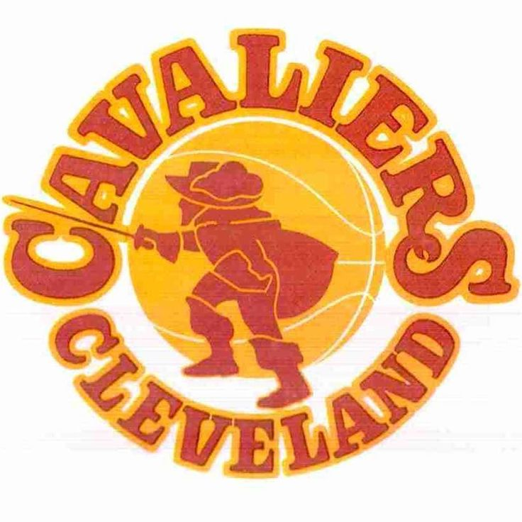 Cavs logo registered as trademark on this day in 1971. Seen here on schedule from inaugural season.  #Cleveland #NBA #Cavs #brand #branding #trademark #logo #history