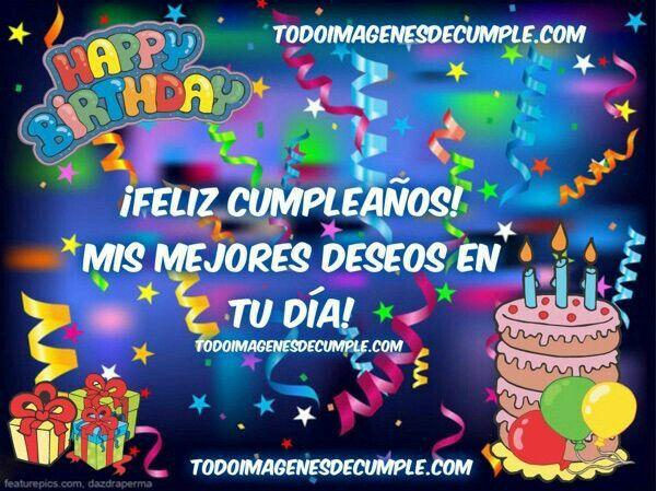 Yamina feliz cumpleaños Díos te bendiga y te de larga vida. Toño