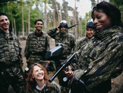 Paintball is a popular sport in the United States and abroad. Business consultant Gaebler.com estimates that in the U.S. alone, there are as many as 5 million current paintball participants who spend ...
