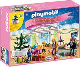 Calendrier de l'Avent #Playmobil pour patienter jusqu'à #Noël !