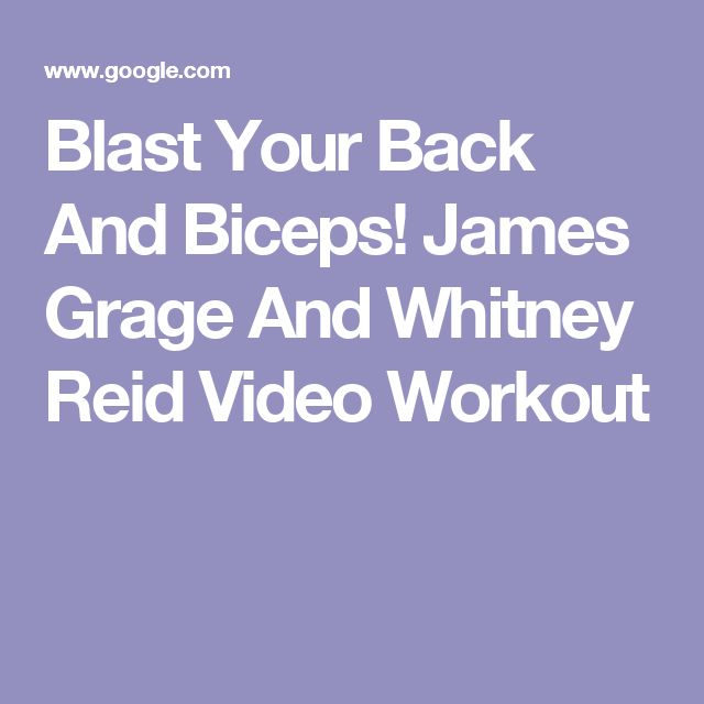 25+ Best Ideas About Back And Bicep Workout On Pinterest