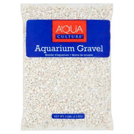Aqua Culture White Chips Aquarium Gravel, 5 lb