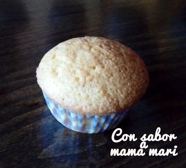 Con sabor a mama mari: Cupcakes de vainilla esponjosos y suaves