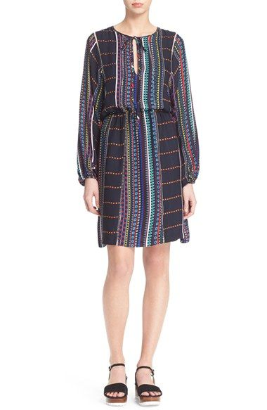 Parker 'Hammok' Print Silk Dress available at #Nordstrom