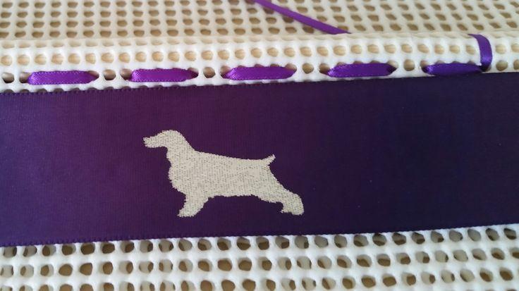 NEW Spaniel Image for Dog Rosette Holder
