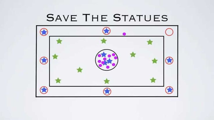 PE Games - Save The Statues