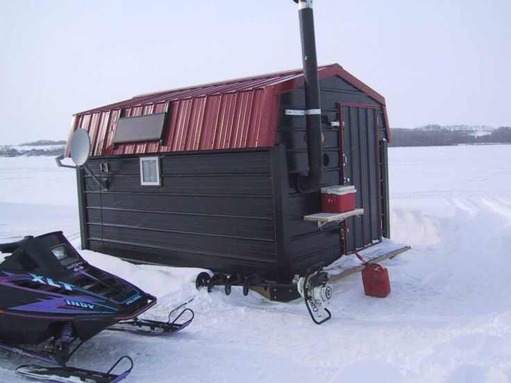 must have's for ice fishing shack - Alberta Outdoorsmen ...