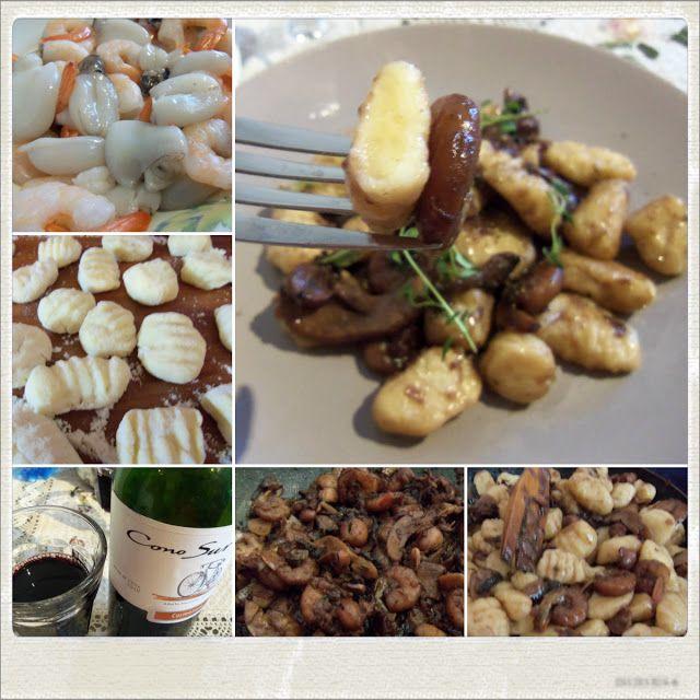 The Return of the Vengeful Gnocchi- Gnocchi with Spicy Seafood Ragu