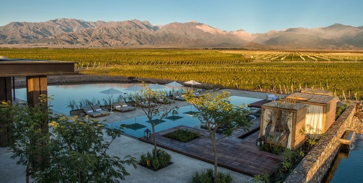The Vines Resort & Spa is set on 1500 acres of Private Vineyards at The Vines of Mendoza