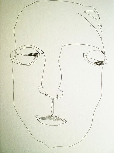 soul portrait (by donna malone) left handed eyes closed