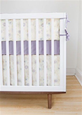 Everything she needs for a healthy, happy night's sleep. 100% Organic Cotton 3 Piece Crib Set. http://simplyvelvet.com/product/finn-emma-flower-crib-set/Crib Sets, Organic Cotton, Cribs Sets, Baby Girls, Emma Flower, Flower Cribs, Girls Nurseries, Baby Stuff, Purple Flower