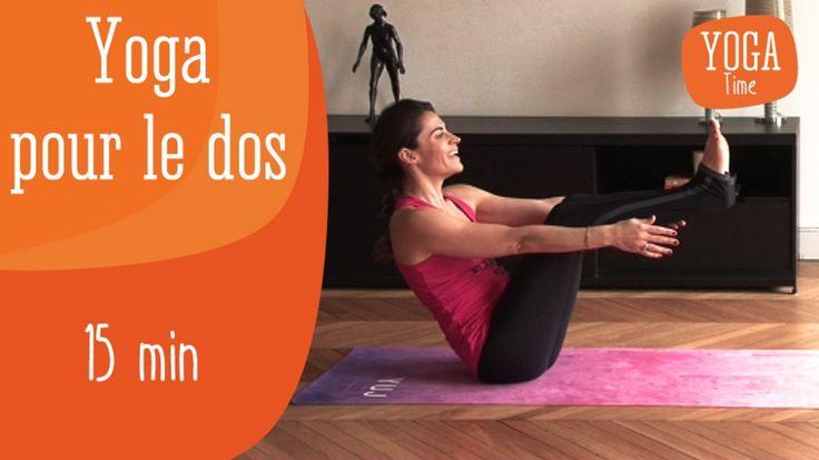 La fatigue, le stress, les mauvaises postures peuvent être à l'origine du mal de dos. Pour renforcer et étirer votre dos en douceur, suivez Hélène Duval, professeur de Yoga dynamique à Paris et fondatrice de la marque YUJ, dans cette séance de 15 minutes de Yoga pour soulager votre dos.