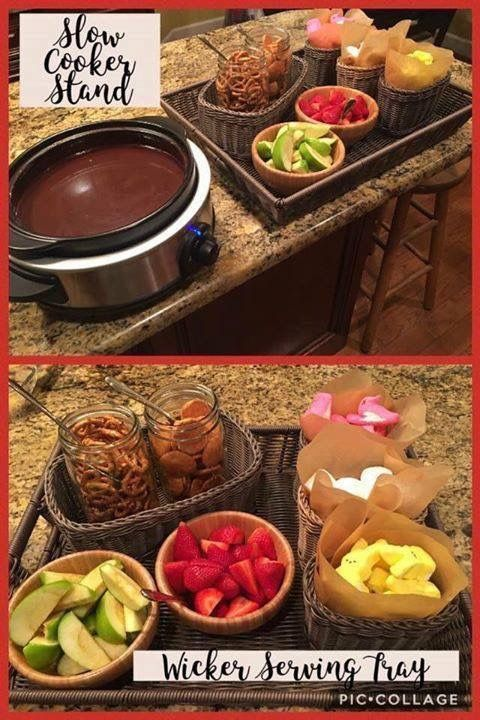 Fondue with Pampered Chef