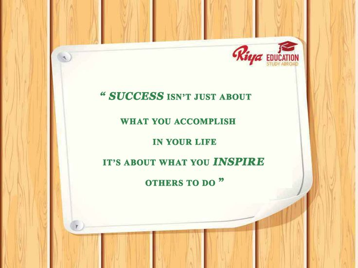 "#Quote for the day!!! #mondaymotivation #Monday - "" "" SUCCESS ISN'T JUST ABOUT WHAT YOU ACCOMPLISH IN YOUR LIFE,IT'S ABOUT WHAT YOU INSPIRE OTHERS TO DO    """