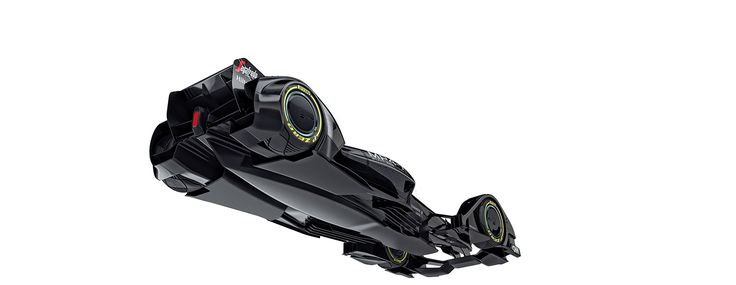The McLaren MP4-X Concept Is A Radical Vision Of Racings Future