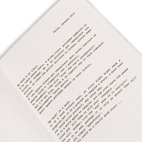 """""""MY BOOK""""  text by denis guidone"""