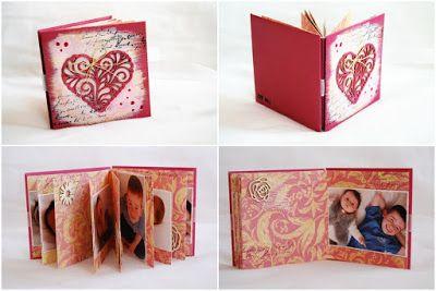 Mindennapok szépségei: Icipici anyák napi minialbumok